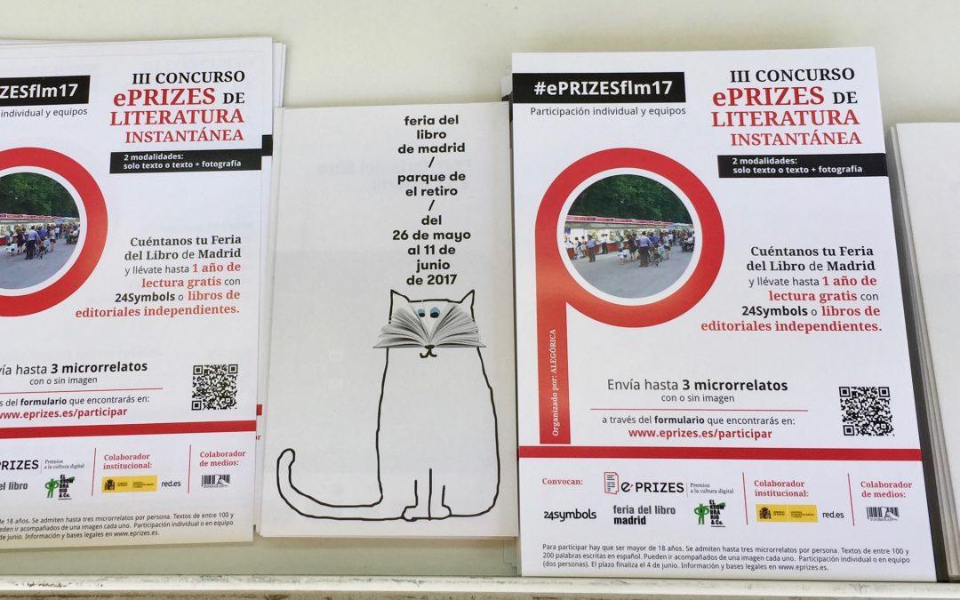 Prorrogado el plazo de participación en el III Concurso ePRIZES de Literatura Instantánea #ePRIZESflm17