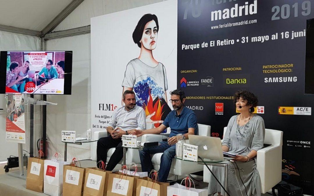 Entregamos los premios del V Concurso ePRIZES de Literatura Instantánea